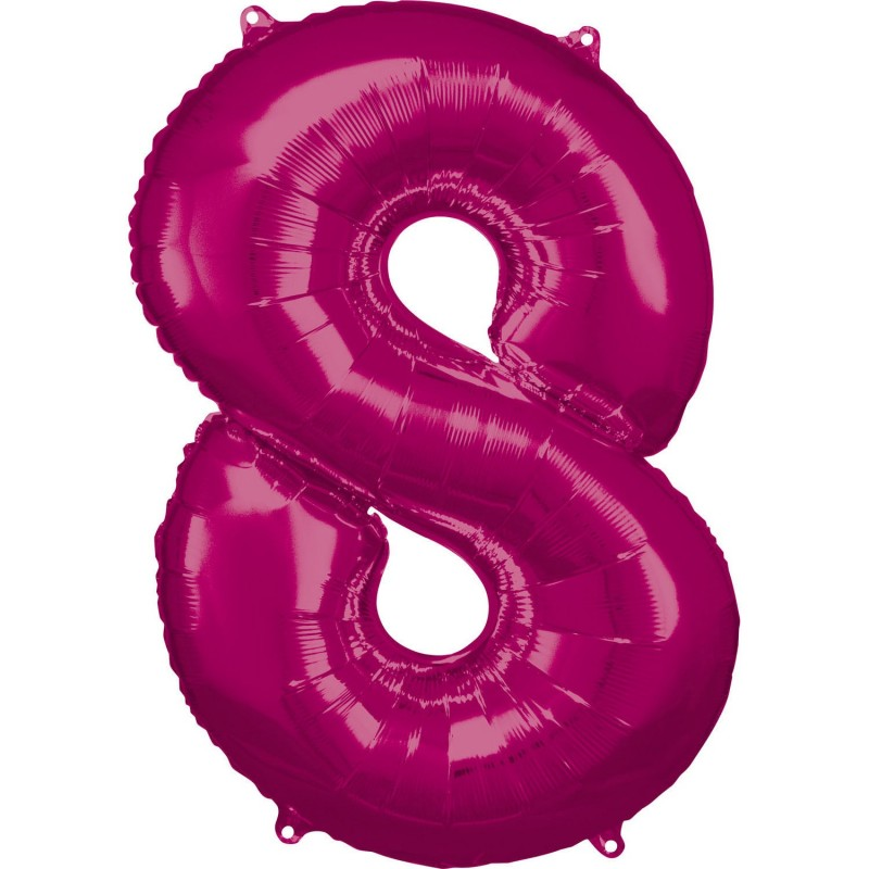"""Folinis balionas """"Skaičius 8"""""""