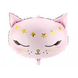 """Folinis balionas """"Rožinė katytė"""""""