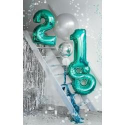"""Folinis balionas """"Skaičius 2""""/ turkio"""