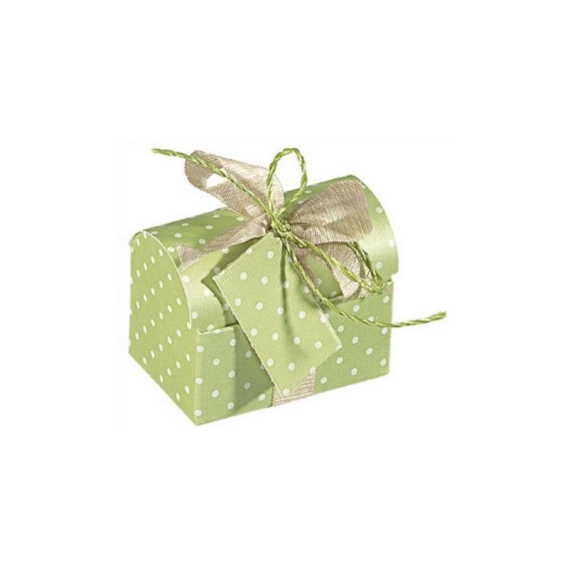"""Dėžutė """"Skrynelė"""" / šviesiai žalia"""