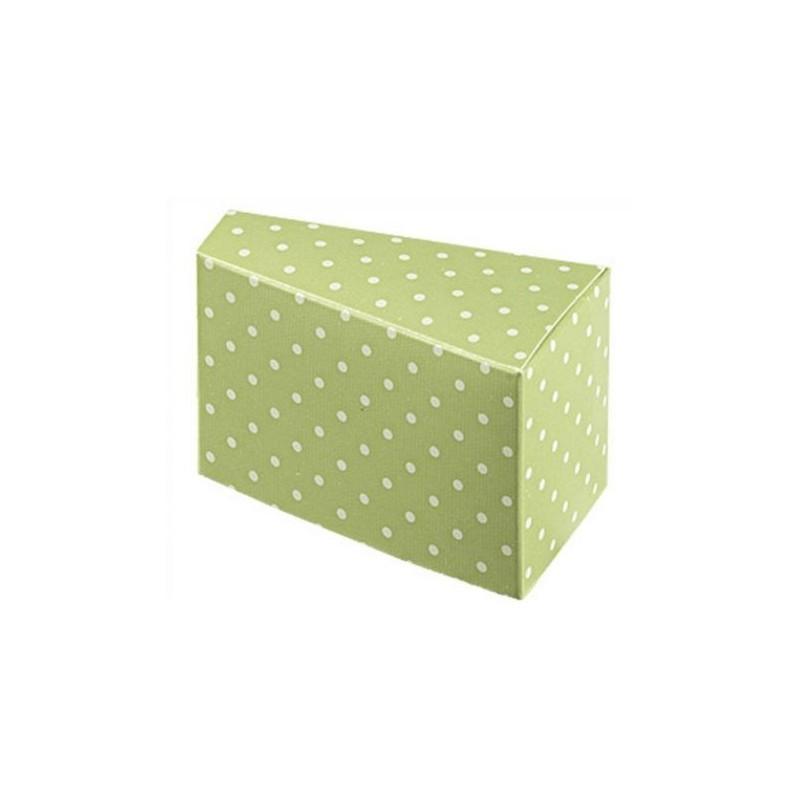 """Dėžutė """"Taškeliai"""" / žalia"""