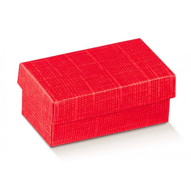 Dėžutė - stačiakampė / raudona