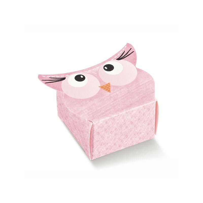 """Mini dėžutė """"Rožinė pelėda"""""""