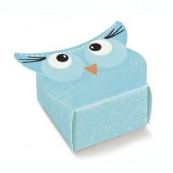 "Mini dėžutė ""Žydra pelėda"""