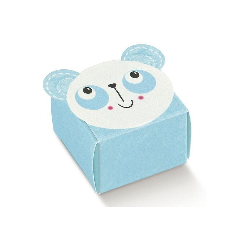 "Mini dėžutė ""Žydra panda"""