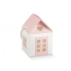 """Dėžutė """"Rožinis namelis"""""""