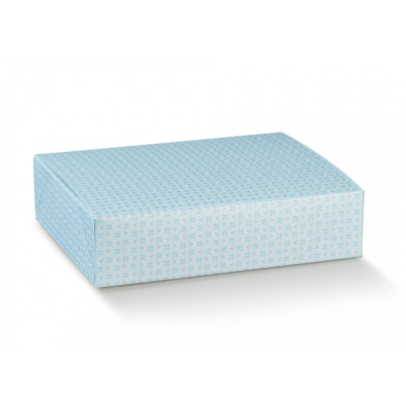 Dėžutė - stačiakampė / melsva