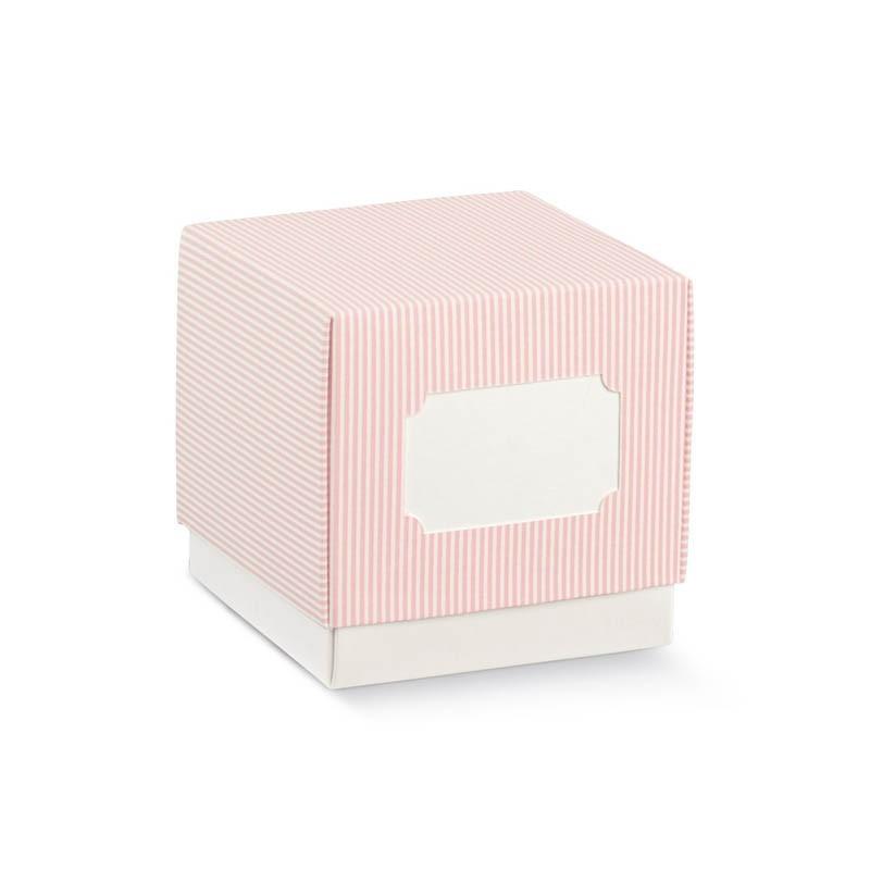 """Dėžutė """"Rožiniai dryžiai"""""""