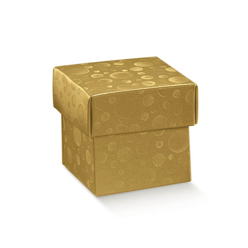 """Dėžutė """"Burbulai"""" / auksinė"""
