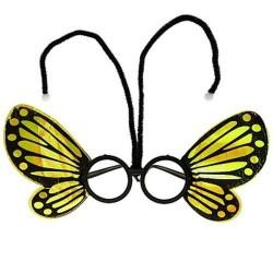 Drugelio akiniai geltoni