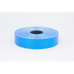 """Plastikinė juostelė """"Taškeliai""""/ mėlyna"""