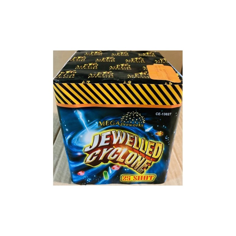 "Baterija ""Jewelled cyclone"""