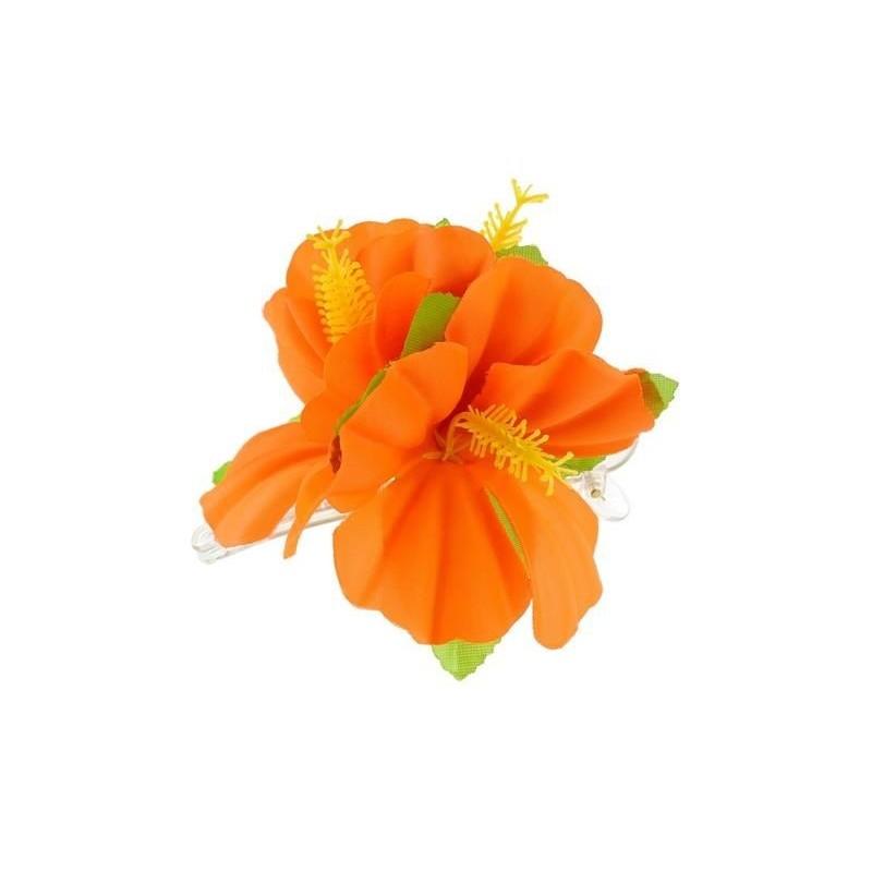 Havajietiškas aksesuaras oranž.