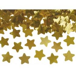 """Konfeti patranka """"Auksinės žvaigždutės"""""""