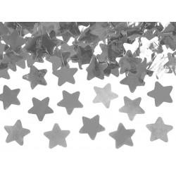 """Konfeti patranka """"Sidabrinės žvaigždės"""""""