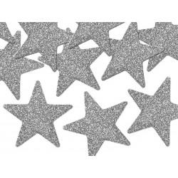 """Konfeti """"Sidabrinės žvaigždės"""""""