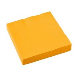 Popierinės servetėlės / geltonos