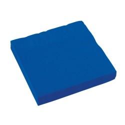 Popierinės servetėlės / mėlynos