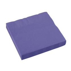 Popierinės servetėlės / violetinės