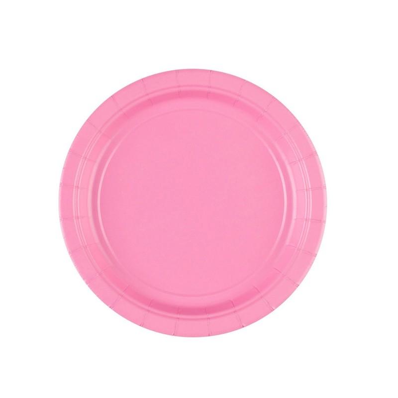 Vienkartinės lėkštutės / rožinės