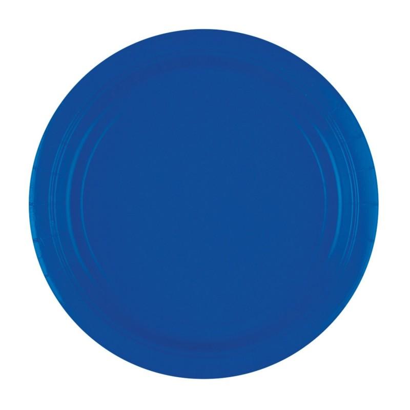 Vienkartinės lėkštutės / mėlynos