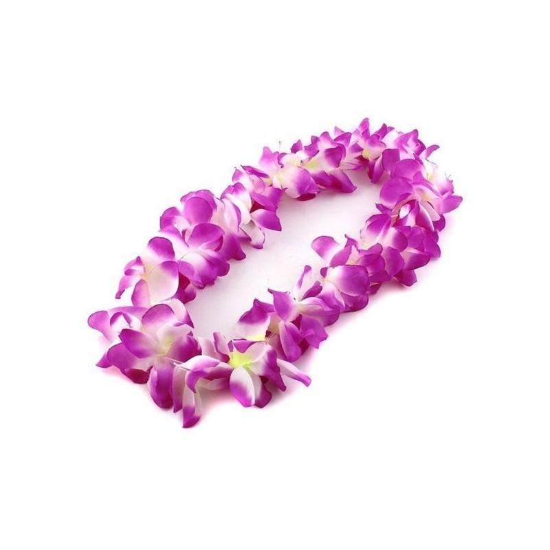 Havajietiška girlianda / violetinė