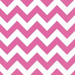 """Servetėlės """"Rožiniai zigzagai"""""""