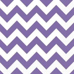 """Servetėlės """"Violetiniai zigzagai"""""""