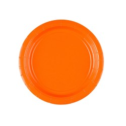 Vienkartinės lėkštutės / oranžinės