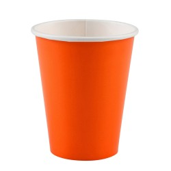 Vienkartiniai puodeliai / oranžiniai