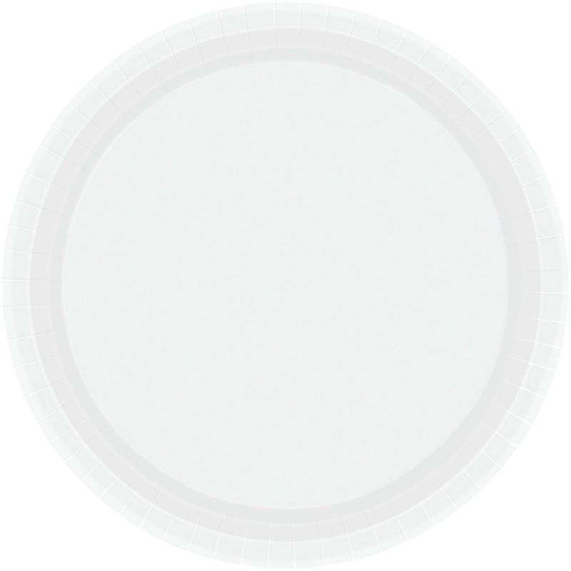Vienkartinės lėkštutės / baltos