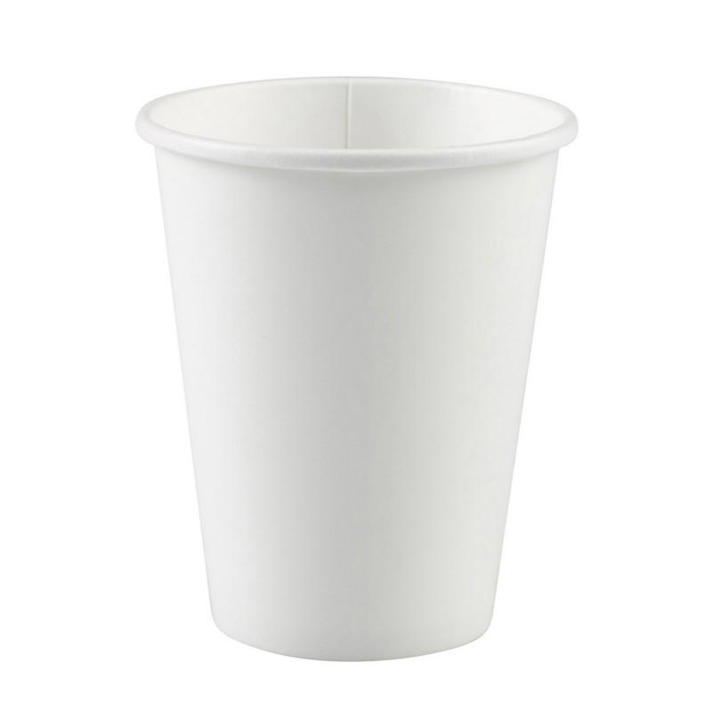 Vienkartiniai puodeliai / balti