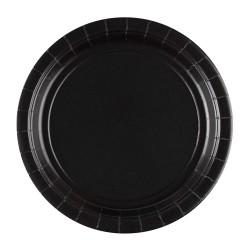 Vienkartinės lėkštutės / juodos