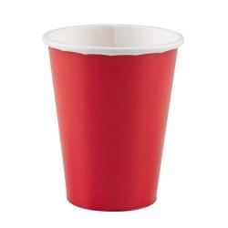 Vienkartiniai puodeliai / raudoni