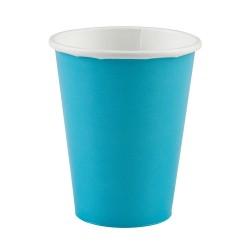 Vienkartiniai puodeliai / žydri