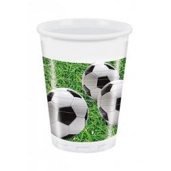 Vienkartiniai puodeliai Futbolas
