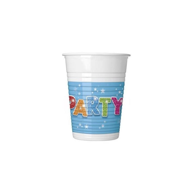 """Vienkartiniai puodeliai """"Party"""""""
