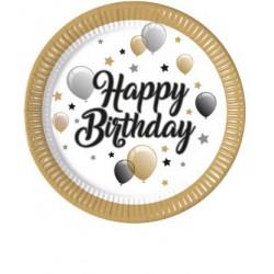 """Lėkštutės """"Happy Birthday/balionai"""""""