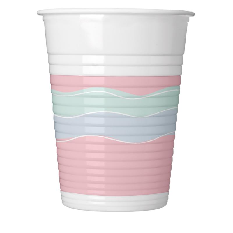 Vienkartiniai puodeliai Pastel party