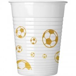 Vienkartiniai puodeliai/Futbolas