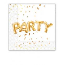 """Servetėlės """"Party"""" / konfeti"""