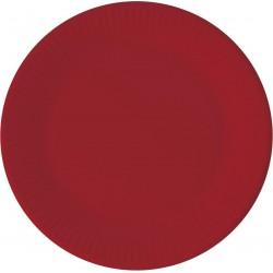 COM lėkštės raudonos