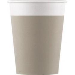 COM puodeliai pilkai rusvi