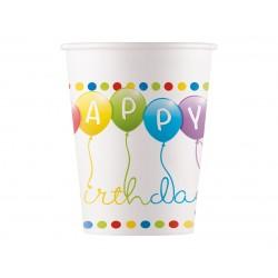 "Puodeliai ""Happy birthday""/balionai"
