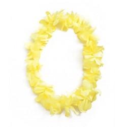 Havajietiškas kaklo papuošalas /geltonas