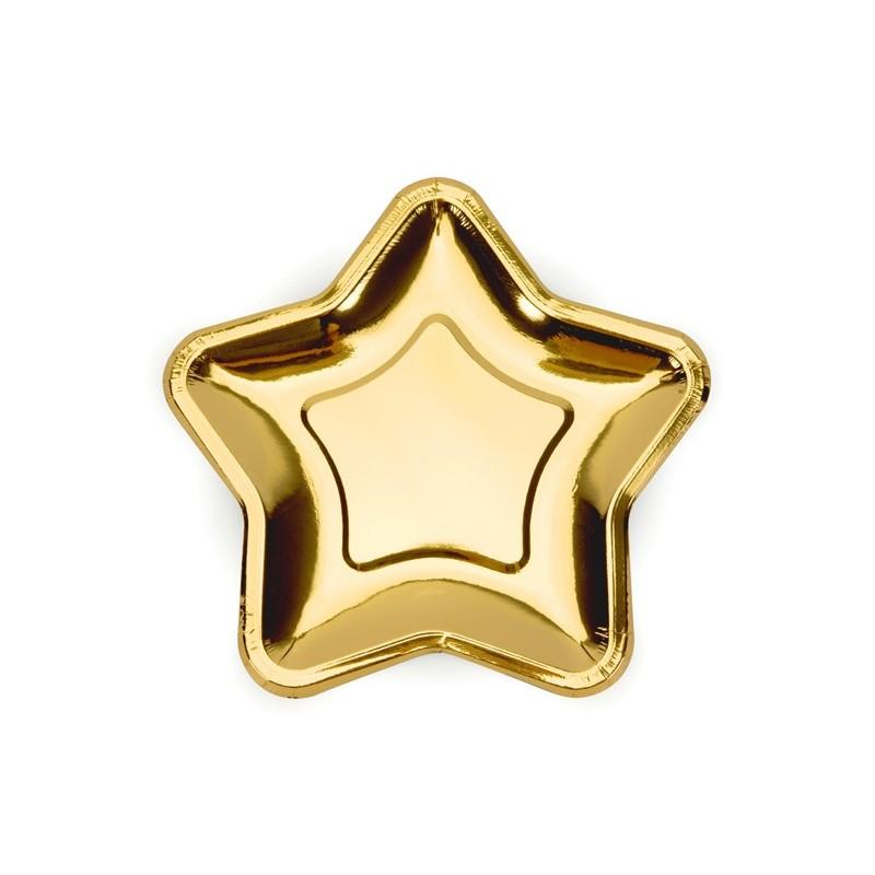 """Lėkštutės """"Auksinės žvaigždės"""""""