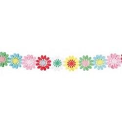 """Dekoracija """"Spalvotos gėlės"""""""