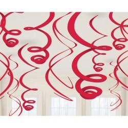 Pakabinamos dekoracijos / raudonos