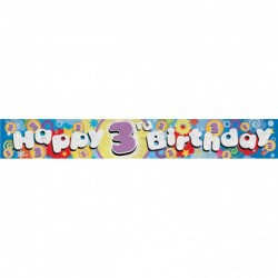 3-iojo gimtadienio juosta