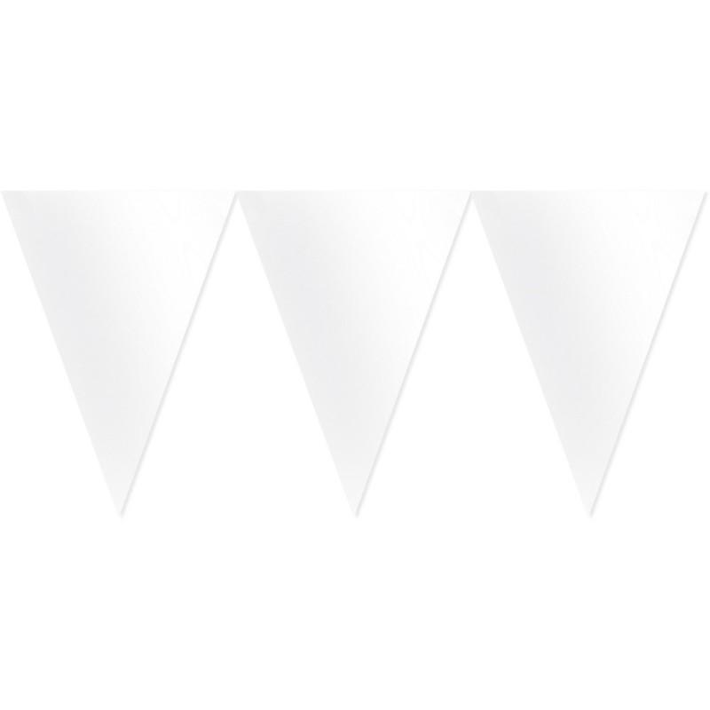 Vėliavėlių girlianda / balta